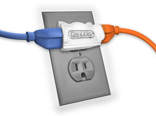 hug a plug
